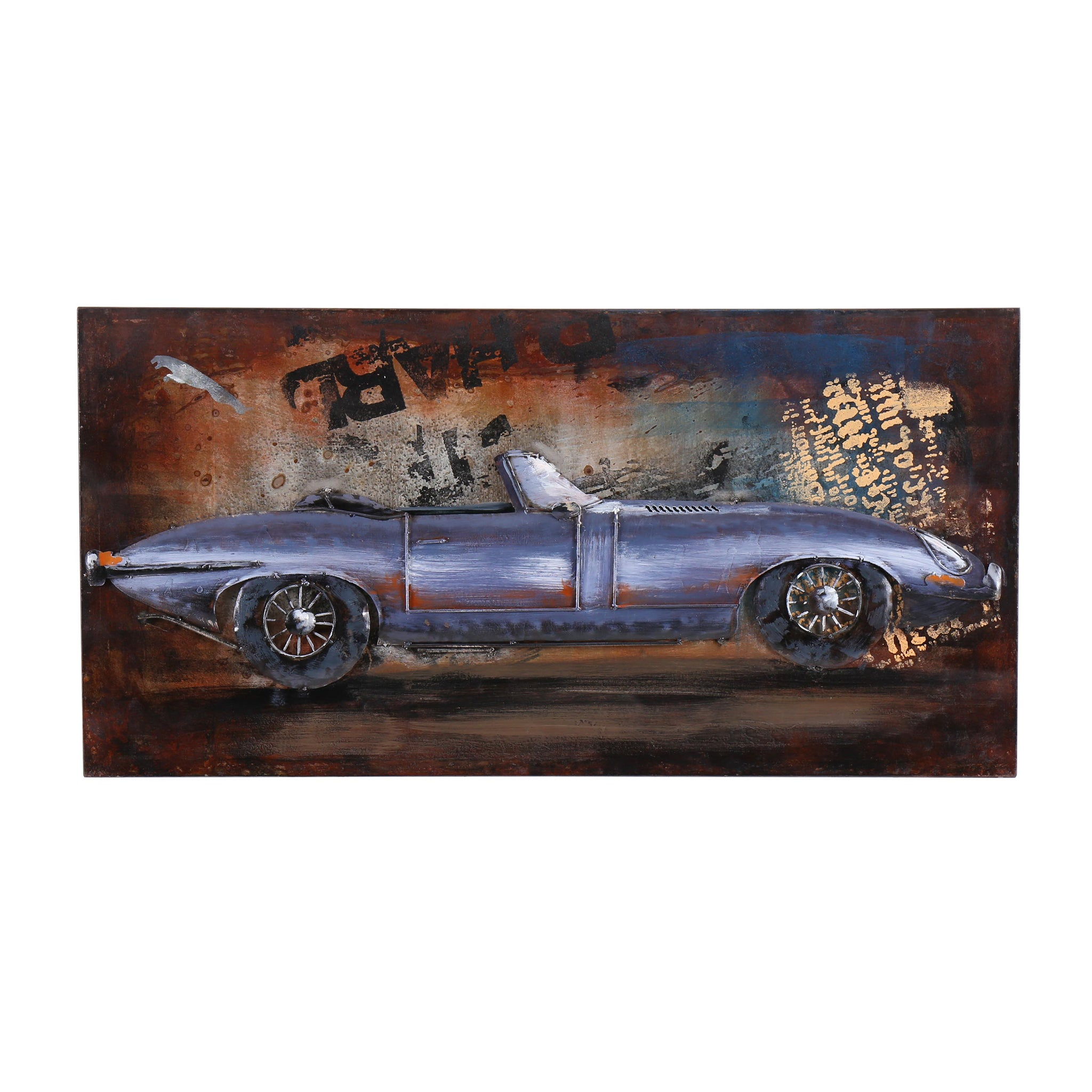 3D E-Type Metal Painting