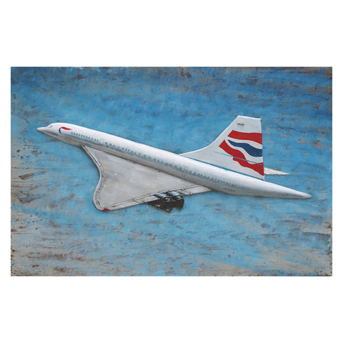Concorde Canvas with Metal Detail