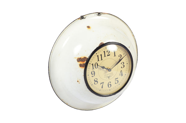 Old cermic bowl clock