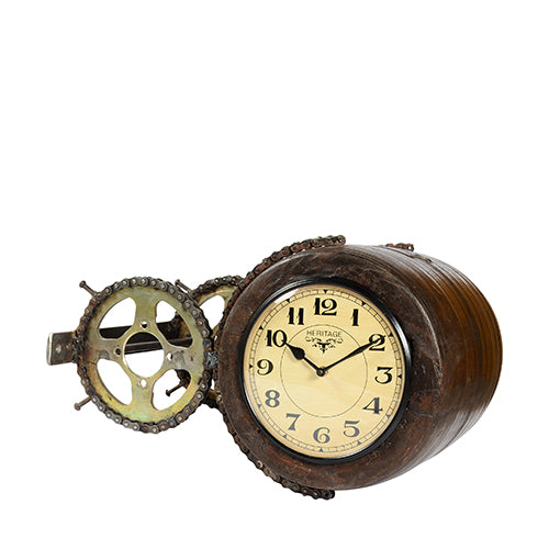 Wooden Dual Side Clock