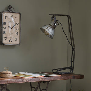 Industrial Upcycled Spotlight Style Table Lamp
