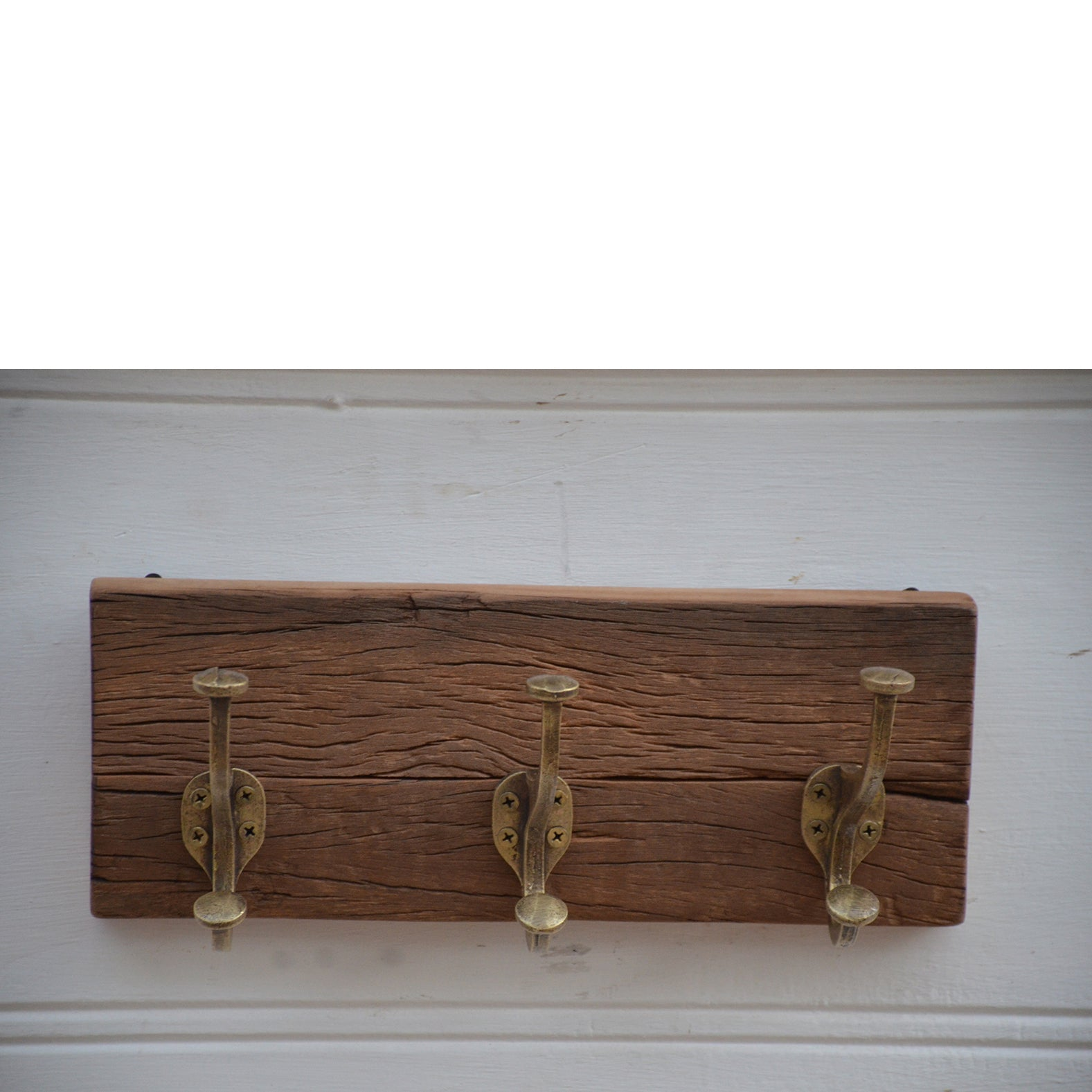 Reclaimed Timber Coat Hooks 3 Coat Hooks
