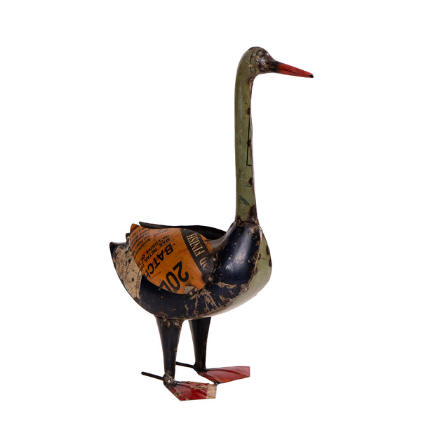 Recycled Iron Duck