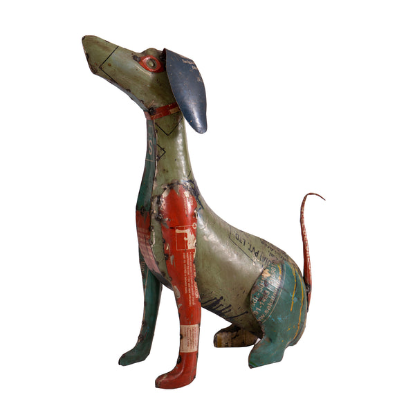 Recycled Iron Dog
