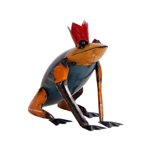 Recycled Iron Frog