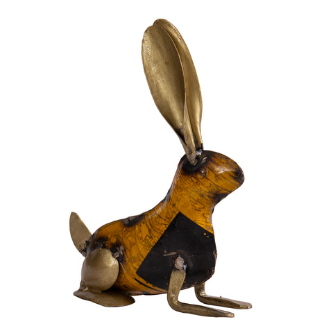 Recycled Iron Rabbit
