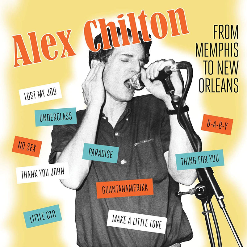 Alex Chilton - From Memphis To New Orleans (New Vinyl)