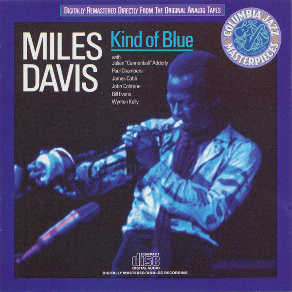 Used CD -  Miles Davis ‎- Kind Of Blue (Columbia Jazz Masterpieces Version)