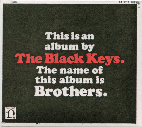 Black Keys - Brothers (NEW CD)