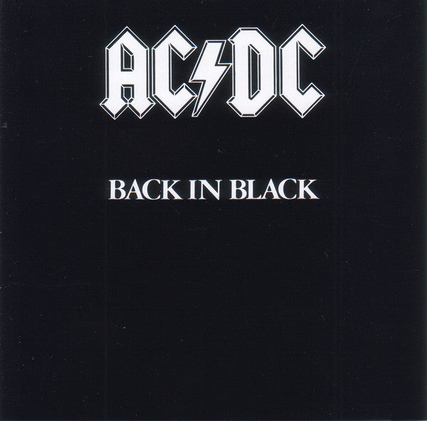 Used CD - AC/DC - Back In Black (jewel case)