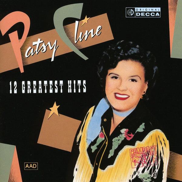 Used CD - Patsy Cline - 12 Greatest Hits