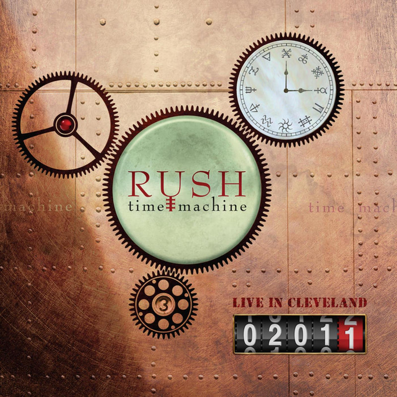 Rush - Time Machine 2011 Live In Clev (New Vinyl)