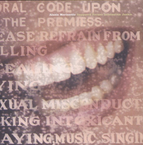 Used CD - Alanis Morissette - Supposed Former Infatuation Ju
