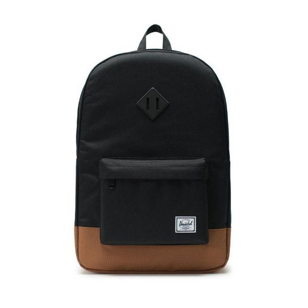 Herschel Supply Co. - Heritage Backpack (Black/Saddle Brown)