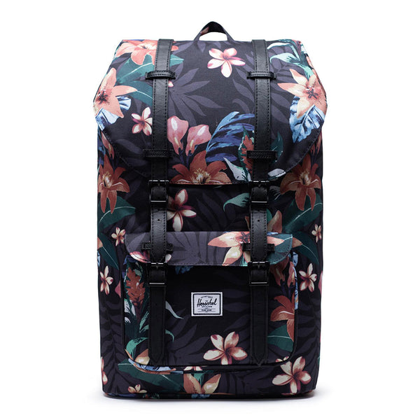 Herschel Supply Co. - Little America Backpack (Summer Floral/Black)