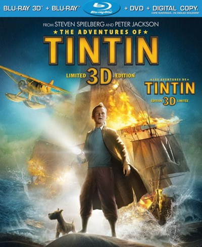 Used 3D Blu-Ray/Blu-Ray - The Adventures of TinTin (2011)
