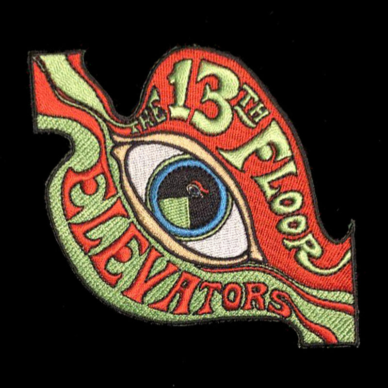 13th Floor Elevators - Embroidered Iron-On Patch