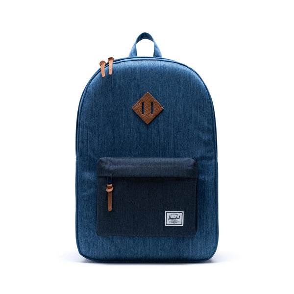 Herschel Supply Co. - Heritage Backpack (Faded Denim/Indigo Denim)
