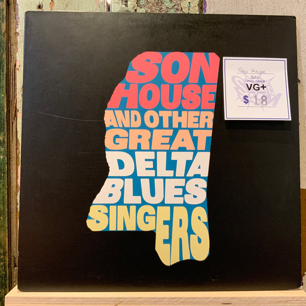(Used Vinyl) Various ‎– Son House And Other Great Delta Blues Singers (VG+)