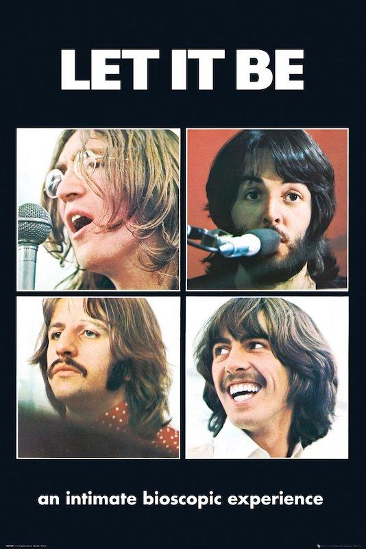 "Beatles - Let It Be (POSTER) 24"" x 36"""