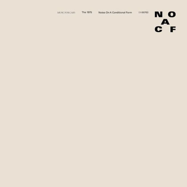 1975 - Notes On A Conditional Form (Transparent Vinyl)
