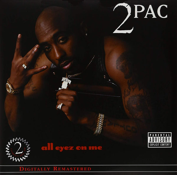 2Pac ‎– All Eyez On Me (Vinyl)