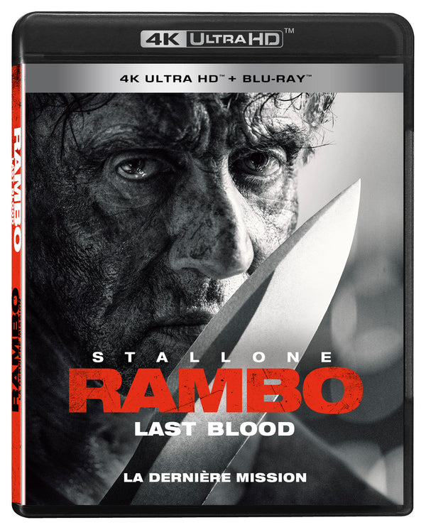 Used 4K Ultra Blu Ray - Rambo - Last Blood