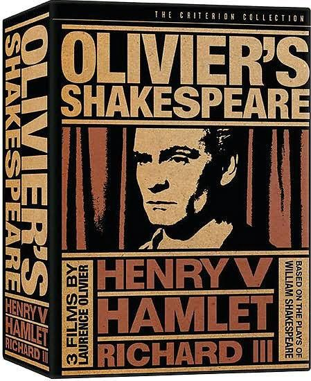 Used DVD - Olivier's Shakespeare Collection