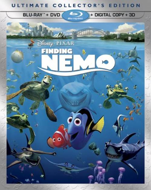 Used 3D Blu-Ray/Blu-Ray - Finding Nemo (2003, 2012)(Ultimate Collector's Edition)
