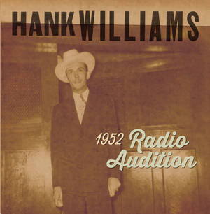 "Hank Williams - 1952 Radio Auditions (7""/Red Colour) (New Vinyl) (BF2020)"