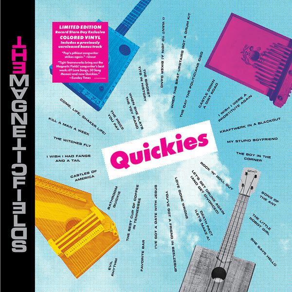 Magnetic Fields - Quickies (12 In./Magenta Colour) (New Vinyl) (BF2020)