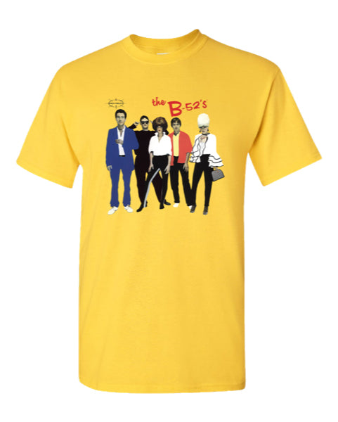 B-52S Yellow T Shirt