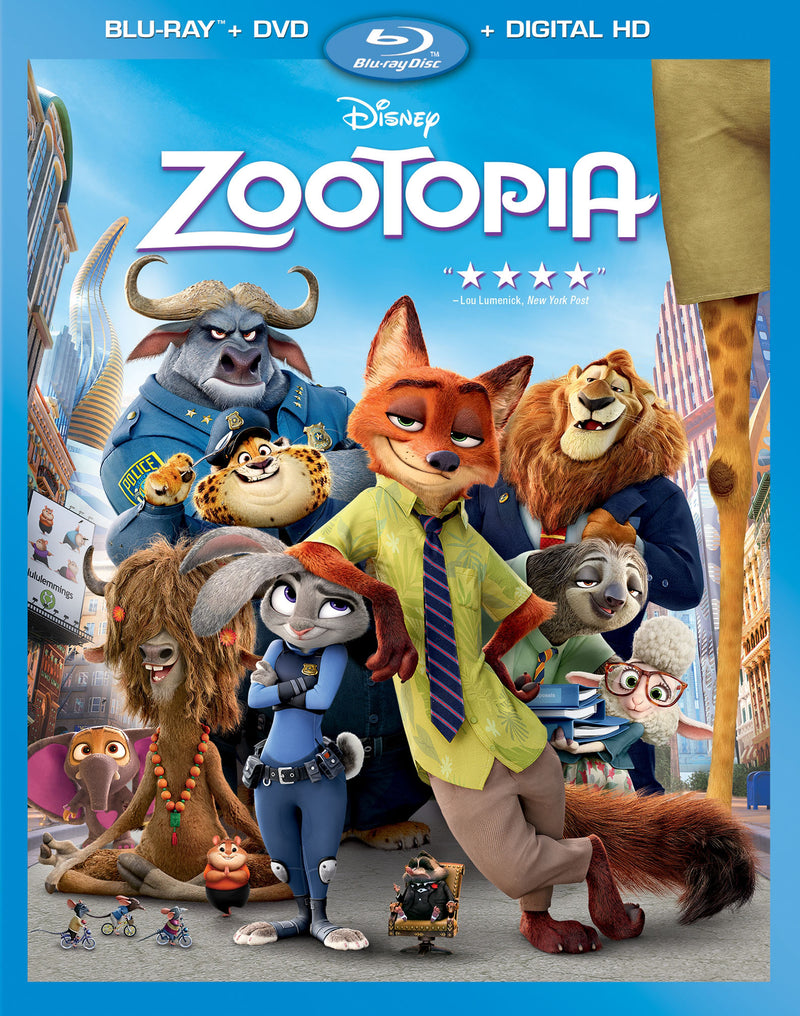 Used Blu-Ray - Zootopia