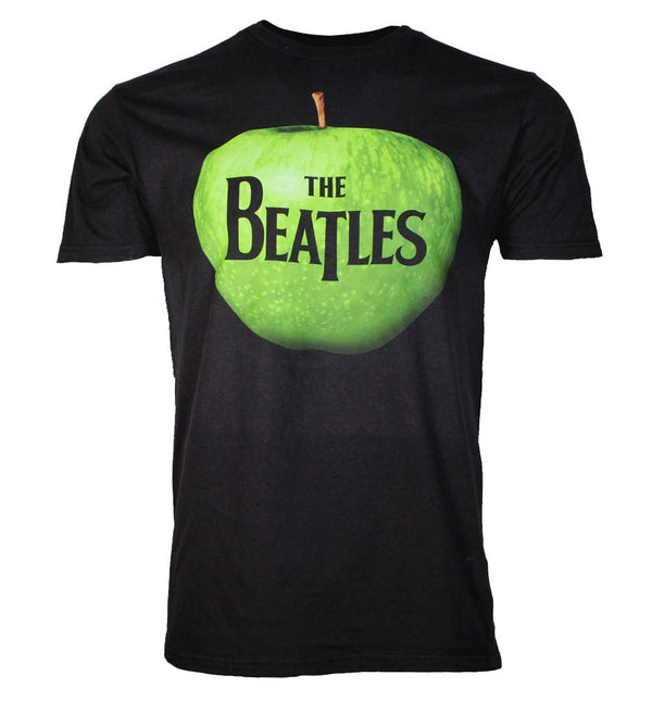 Beatles Apple Logo Mens Black