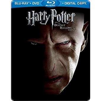 Used Blu-Ray - Harry Potter (Steelbook) And The Deathly Hallows Pt 2