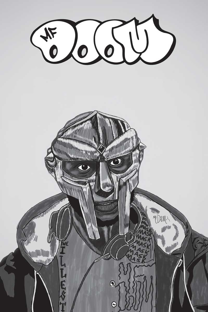 "MF Doom - Comic Art (POSTER) 24"" x 36"""