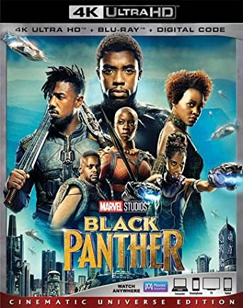 Used 4K Ultra Blu-Ray - Black Panther