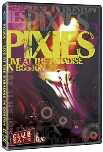 Used DVD - Pixies - Live at the Paradise in Boston - 2004