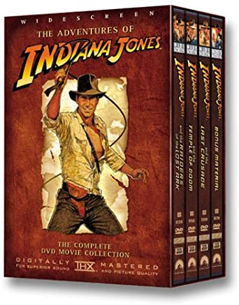 Used DVD - Indiana Jones - Adventure Collection