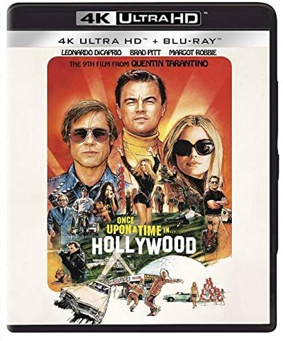 Used 4K Ultra HD - Once Upon A Time In Hollywood