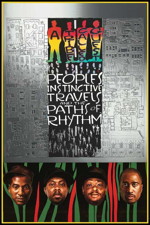 "A Tribe Called Quest Paths  (POSTER) 24"" x 36"""