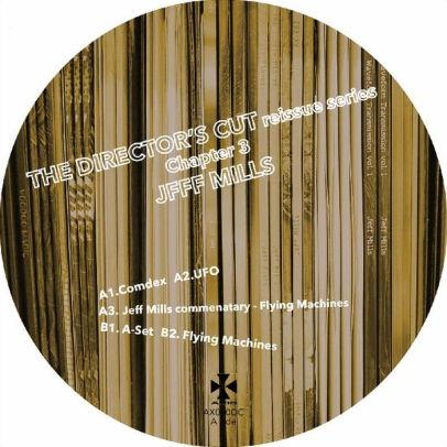 Jeff Mills - Directors Cut 3 12 In. (New Vinyl)