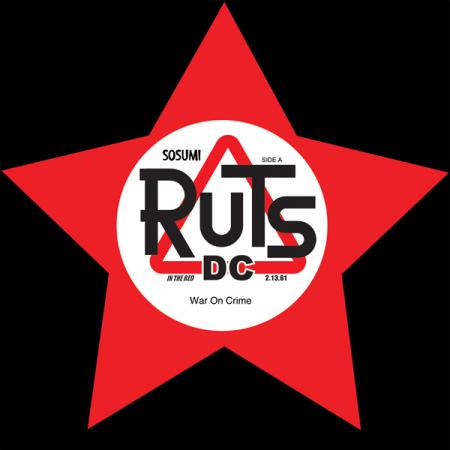 "Ruts DC - War on Crime 7"" (RSD 2020) (New Vinyl)"