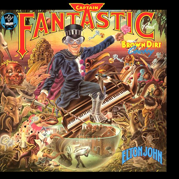 Elton John - Captain Fantastic And The Brow (New Vinyl)