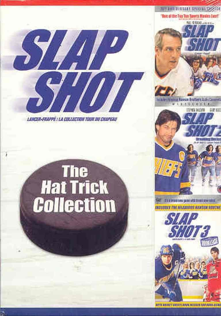 Used DVD - Slap Shot Hat Trick Collection