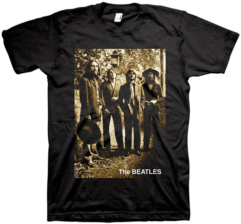 Beatles - Sepia Hey Jude Black Shirt
