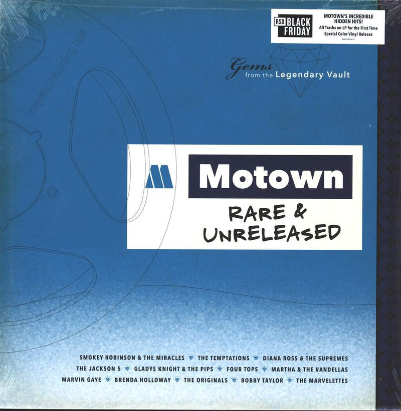 Various - Motown Rare And Unreleased (New Vinyl)