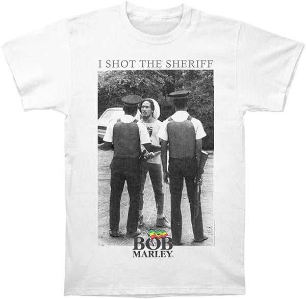 Bob Marley - I Shot The Sheriff White Shirt