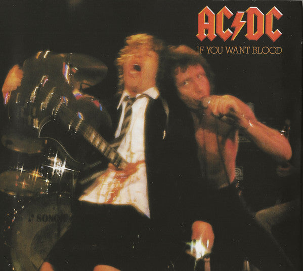 Used CD - Ac/Dc - If You Want Blood Youve Got It (digipak)