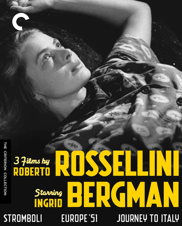 Used Blu-Ray - 3 Films by Roberto Rossellini starring Ingrid Bergman (Criterion)